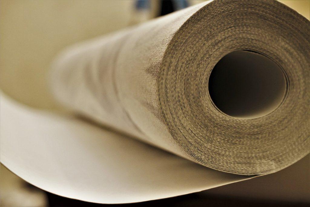wallpaper roll, paper roll, role